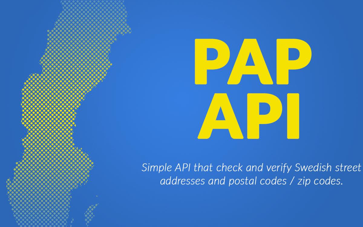 PAPAPI - Egenutvecklat API